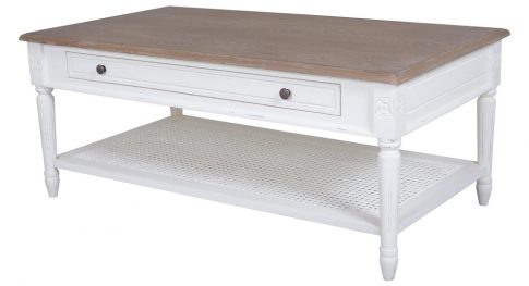 Helena White-Coffee-Table