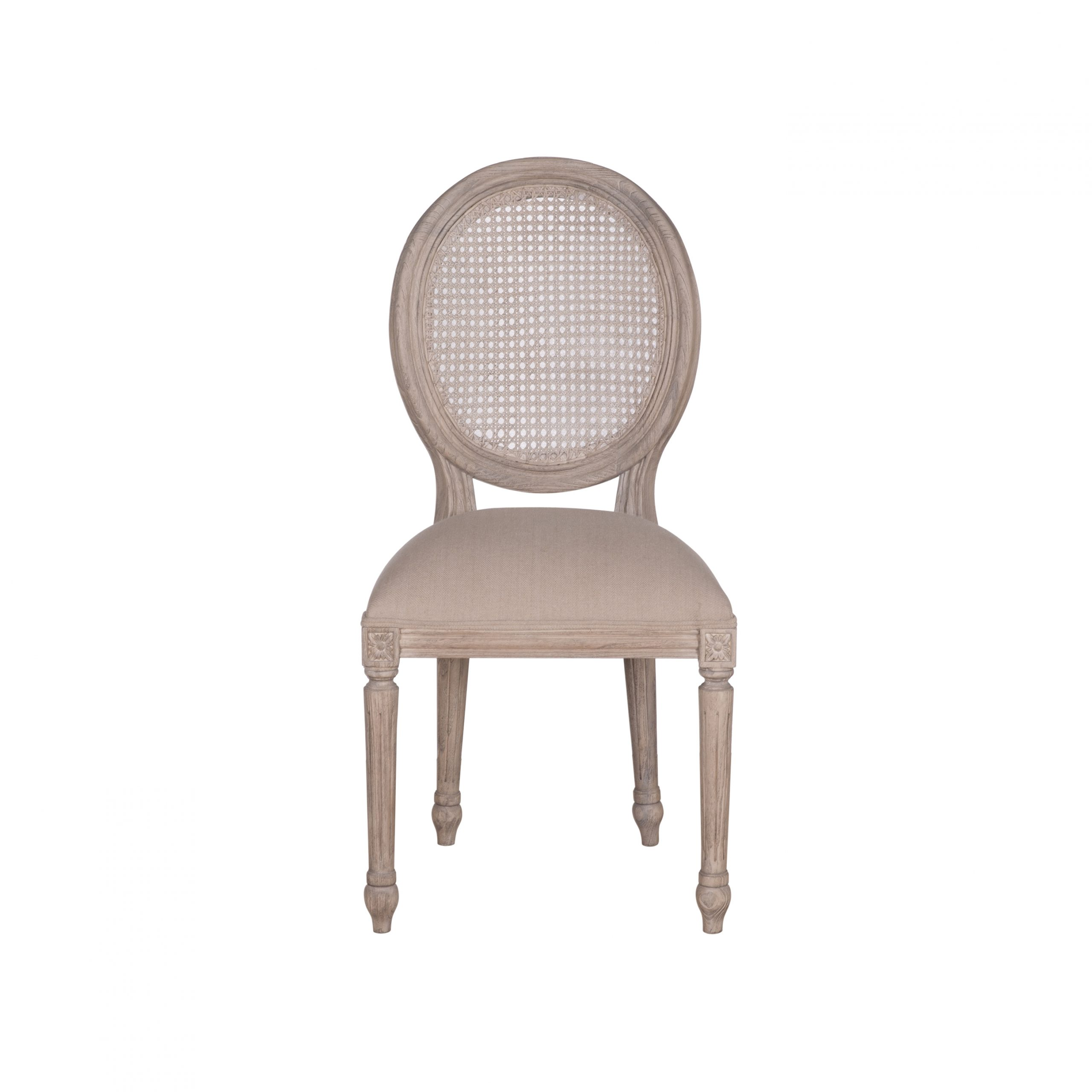 Picture of: Sofia Rattan Back Dining Chair All Rustic Brown Kelston House International